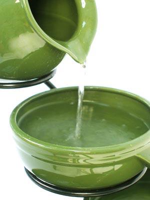 Fontane da giardino cascata d acqua esterno vasi a fontana zen ...