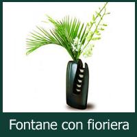 Fontane con fioriera