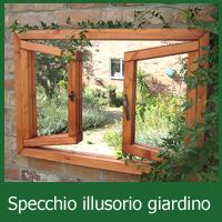 Specchi da giardino