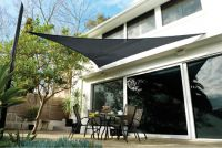 Tenda a vela Coolaroo - Carbone - Triangolare - 3,6m