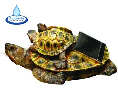 Tartarughe d 39 acqua dolce fontana galleggiante solare 110 00 for Laghetto tartarughe inverno