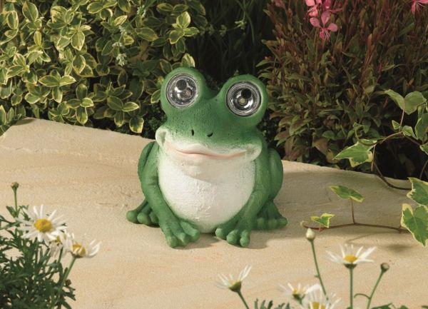 Lampade Solari Milano : Garden Frog Solar Light