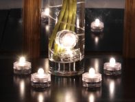 Candeline Tealights Flicker Flame�  Impermeabili - 6 pz