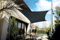 Tenda a vela Coolaroo - Carbone - Quadrata - 5,4m