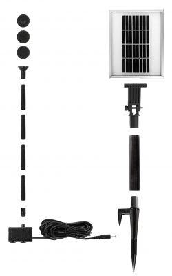 Pompa d 39 acqua a energia solare 150lph fontana giardino for Pompa filtro laghetto solare