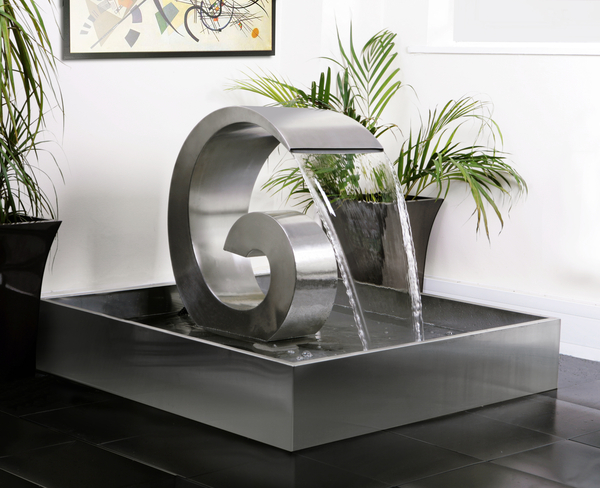 Fontane da esterni e da interni con design moderno e contemporaneo ...
