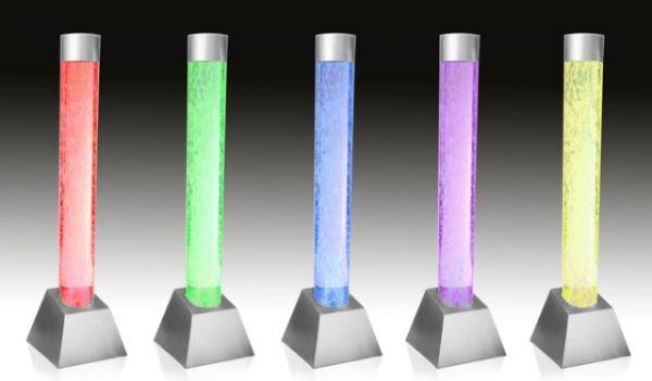Fontana colonna a bolle con luci e telecomando €239,99