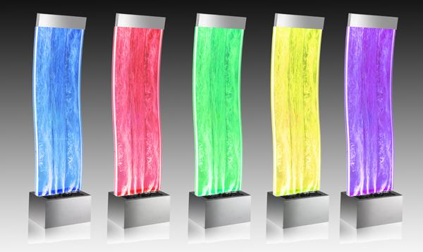 Fontana a bolle aries con luci led cangianti – 1.50m €399,99