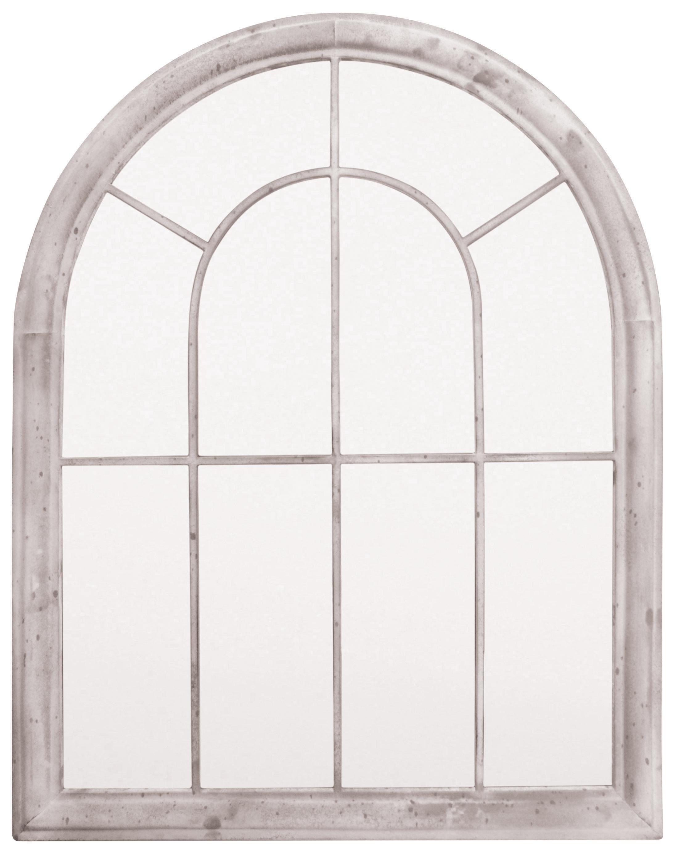 specchio in vetro con cornice ad arco � 11999