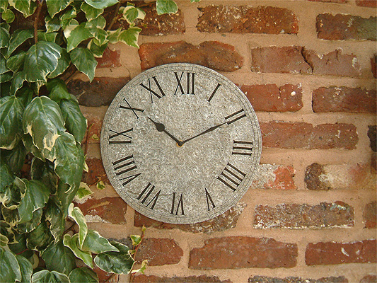 Orologio Da Giardino Effetto Pietra 30cm 33 99