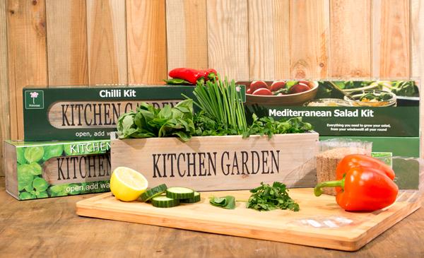 Crea Il Tuo Giardino Cucina 3 Davanzale Fioriere Con I