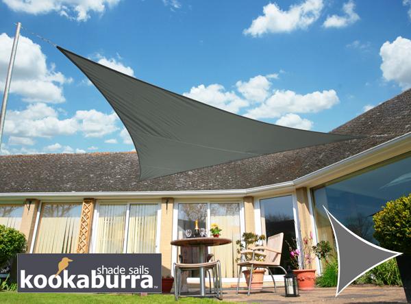 Tende A Vela Impermeabili.Tende A Vela Kookaburra Triangolare 5 Mt Carbone Tessuto