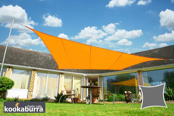 Tenda A Vela Quadrata : Tende a vela kookaburra quadrata m arancione tessuto