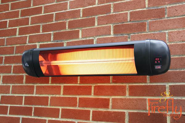 Lampada riscaldante infrarossi firefly™ kw con telecomando u ac