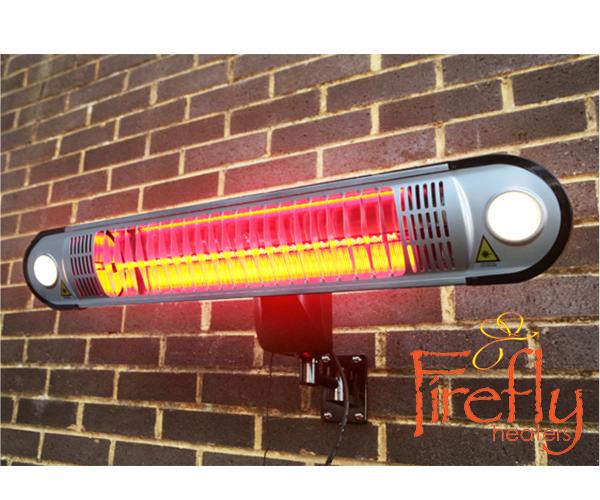 Firefly™ lampada riscaldante a parete alogena a muro kw con