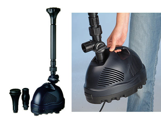 Pompe per fontane per laghetto elimax 91 99 for Pompe per laghetto
