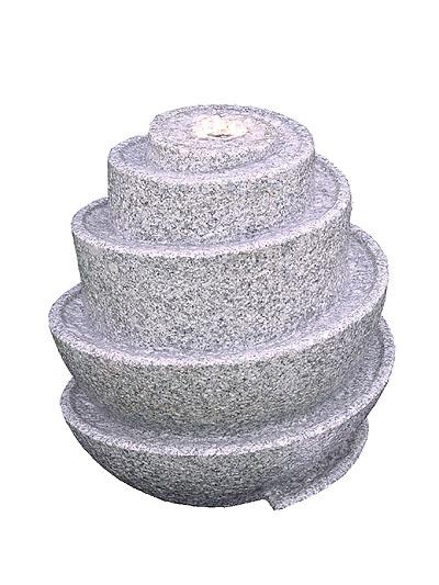 Fontana Da Giardino Spirale Di Granito 639 99