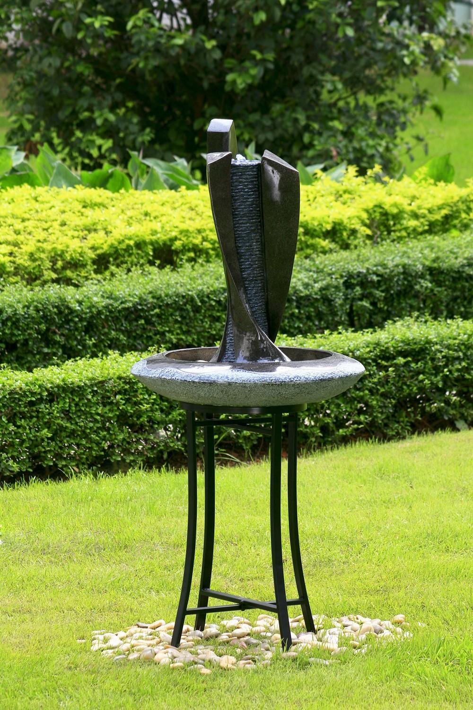 Fontana Moderna Con Piedistallo 234 99