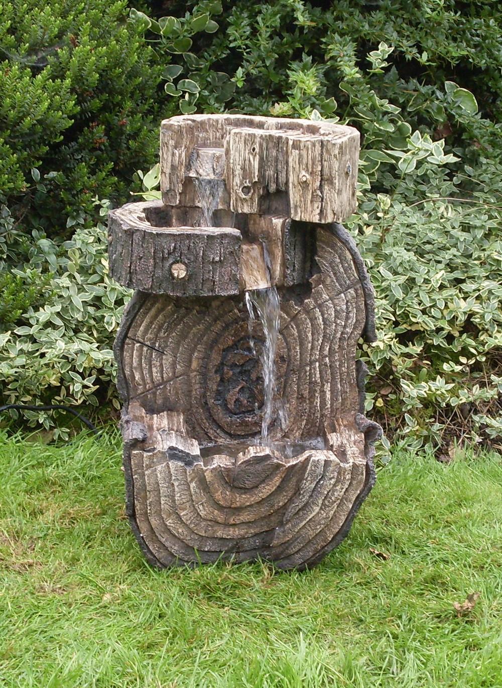 Fontana sezione d 39 albero con luci 223 15 for Giardino primrose