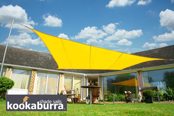 Tenda A Vela Quadrata : Tende a vela kookaburra quadrata m giallo tessuto