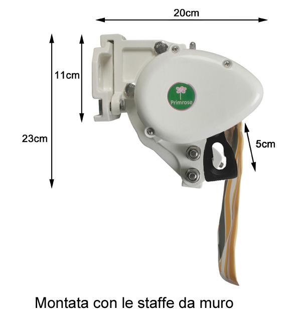 Motorizzare Tende Da Sole.Tenda Da Sole Elettrica A Cassonetto Parziale Striata Da 3 0 Metri