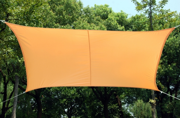 Tenda a vela kookaburra quadrata 3 6 m pesca tessuto for Tenda a vela rettangolare