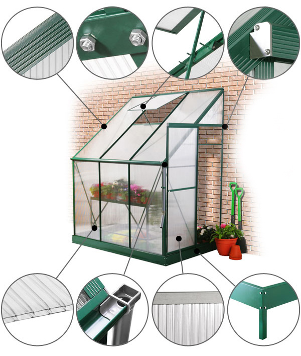Lacewing Greenhouse details