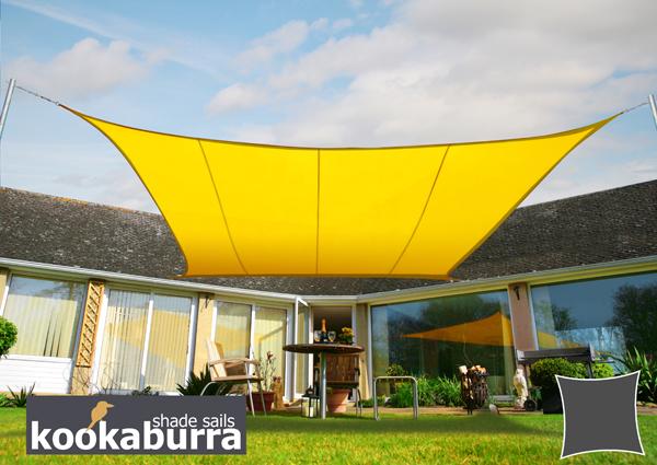 Tenda A Vela Quadrata : Tenda a vela kookaburra per feste resistente all acqua quadrata