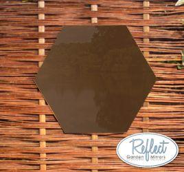 Arco prospettico con specchio 141 99 for Specchio esagonale