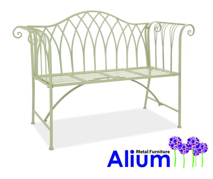 Panchina a due posti per giardino monza alium for Regalo mobili monza
