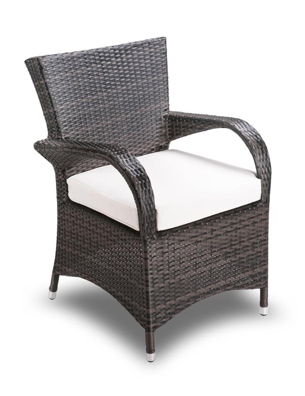 Set tavolo e sedie da giardino asha eloro in rattan 6 - Sedie da giardino in rattan ...