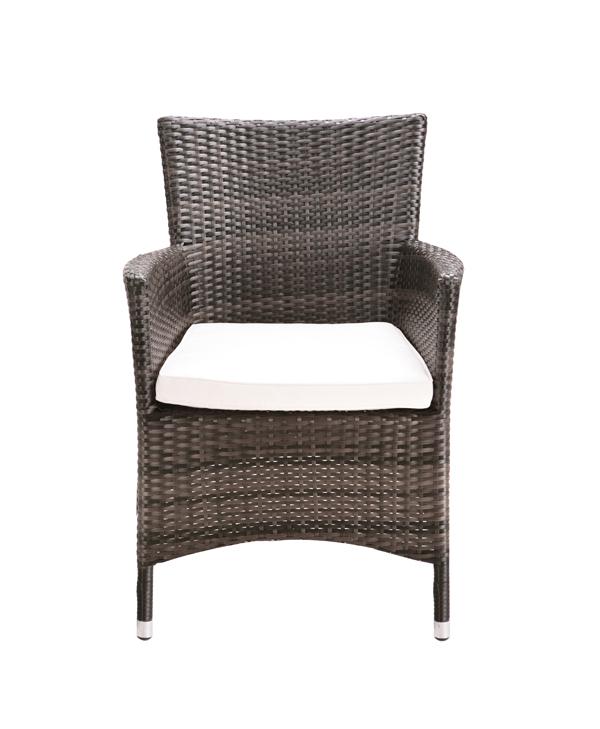 Set tavolo e sedie da giardino asha vendicari in rattan 6 posti rettangolare - Sedie da giardino rattan ...