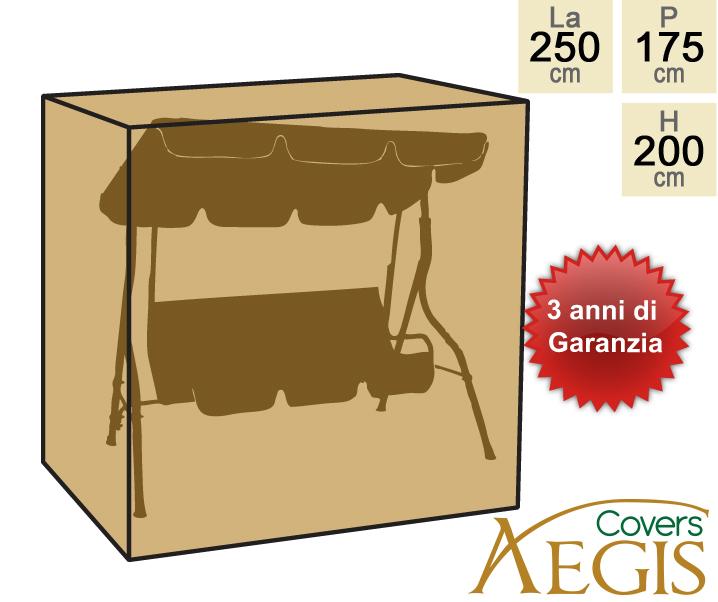 Telo di copertura aegis deluxe per dondolo 3 posti 129 99 for Telo copri dondolo 3 posti