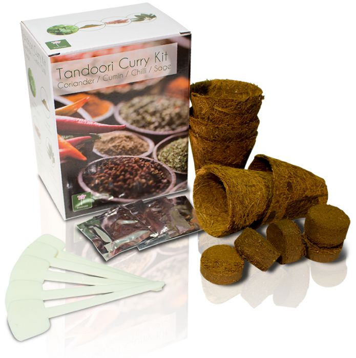 Tandoori crea il tuo giardino delle erbe kit 4 for Crea il tuo giardino