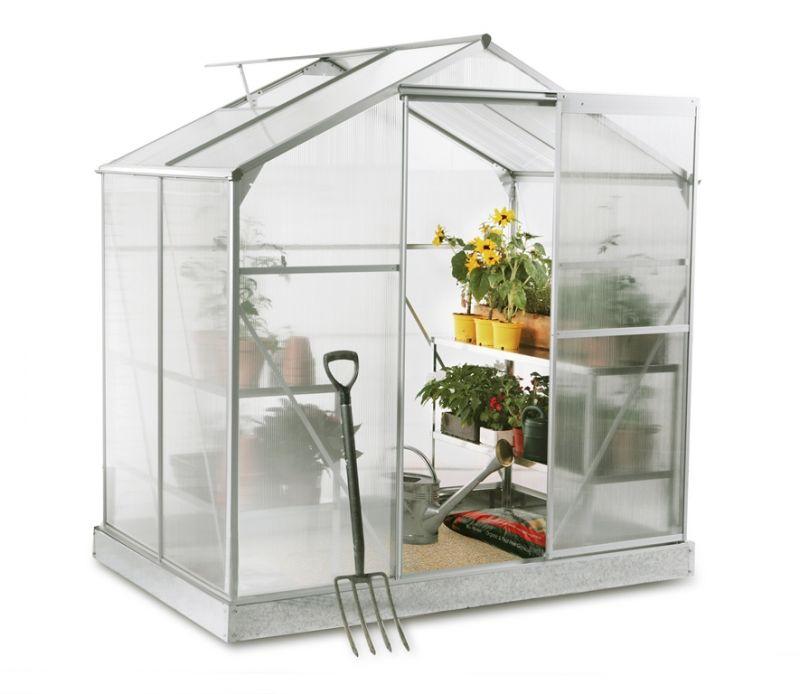Serra lacewing standard da orto e giardino in alluminio for Giardino primrose