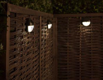 Paravento solare per luci da giardino - pacco da 3 - della Solaray ...
