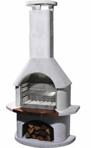 Barbecue in pietra da esterni tropea 999 99 - Barbecue da giardino in pietra ...