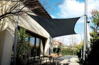 Tenda a vela Coolaroo - Carbone - Quadrata - 3,6m