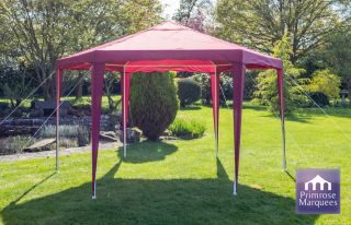 Gazebo da 3.92m budget party colore viola Diam