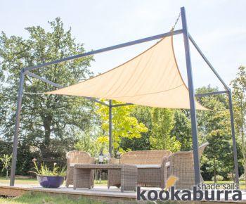 3m x 2m rettangolare sabbia resistente all 39 acqua tenda a for Tenda a vela rettangolare