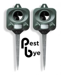 Set Di 2 Repellente per gatti a batterie - PestBye®