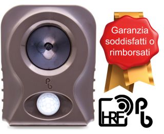 PestBye® Funzionante a Batteria Repellente Volpi HyperResonance™ a Frequenza e BehaviourSpecific™ a Orologio