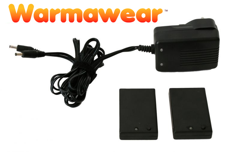 Batterie Ricaricabili per Guanti Warmawear con Carica-batterie € 29,99