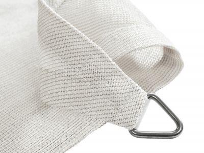 Tende a vela Kookaburra® per feste- Triangolare 5 mt Bianco Polare Traspirante Intrecciata (185g ...