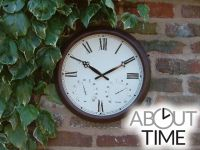 Orologio da giardino, color ruggine antica Outdoor - 38cm -  About Time™