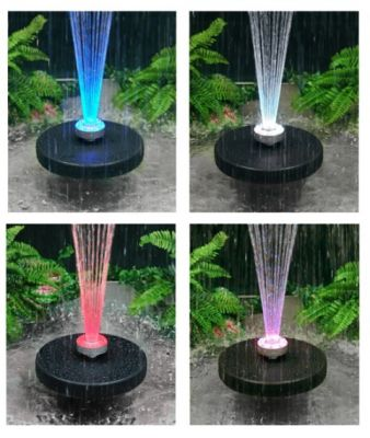 Fontana Apollo d'acqua con luci LED