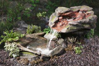 Laghetto Con Cascata Da Giardino : Fontane a cascata da giardino complete di pompa sommersa e tubazioni